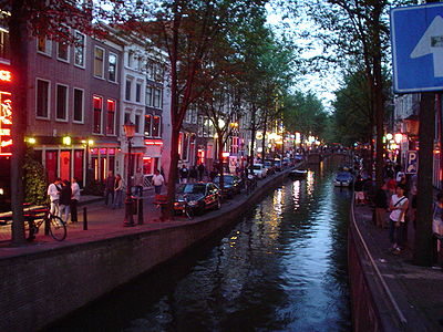 Amsterdam, De Wallen Red Light District