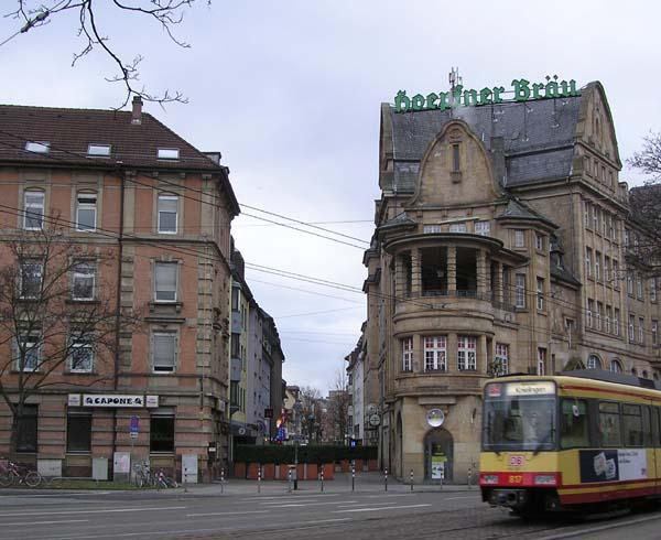 Brunnenstrasse - Red Light District of Karlsruhe